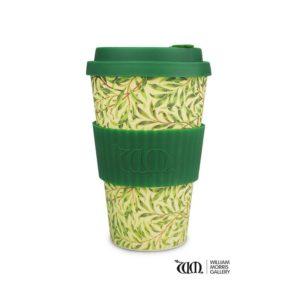 Vaso de bambú hojas verdes ECOFFEECUP