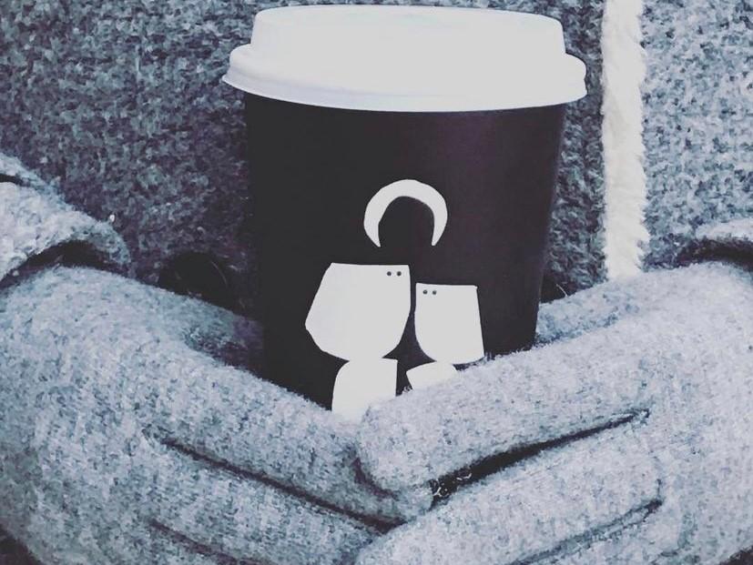 Al rico combinado de café caliente