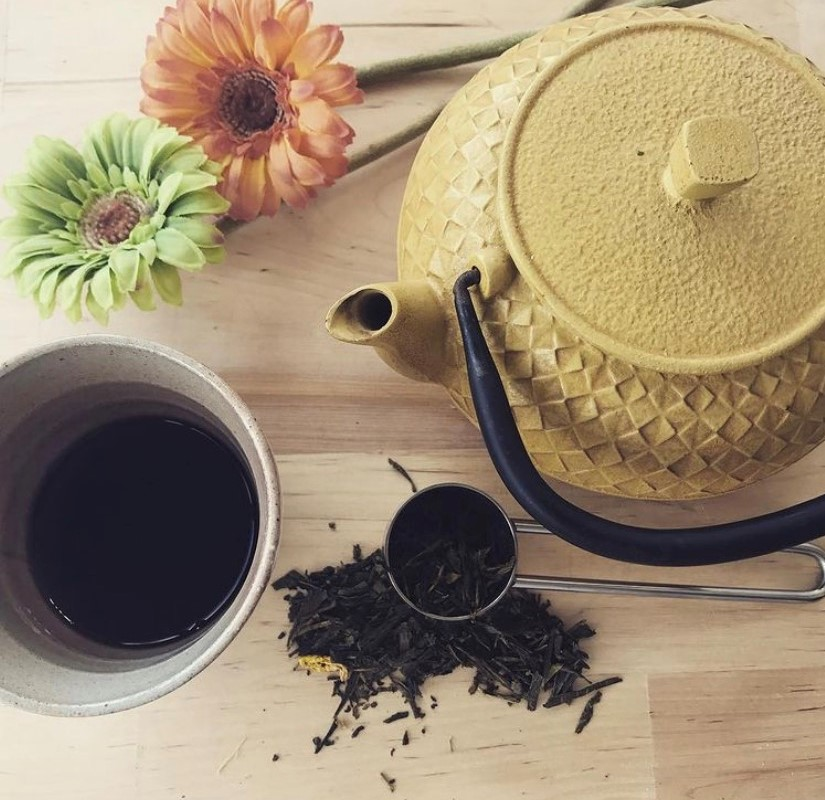 Panchito bebe el té del emperador